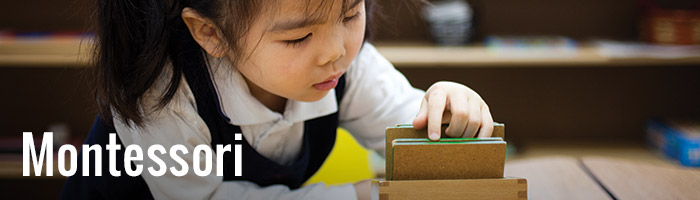 Montessori method of education